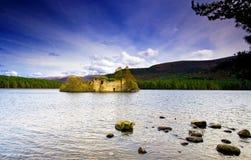 замок старая Шотландия Стоковое Изображение