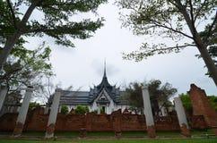 Замок старости в Таиланде Стоковое фото RF