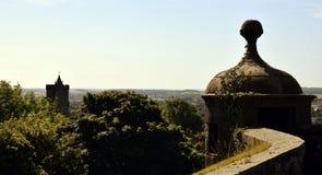 Замок Стерлинга - стены Стоковое Изображение RF