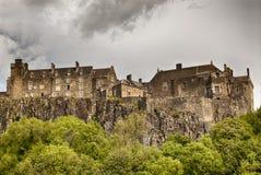 Замок Стерлинга стоковые фотографии rf