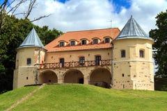 Замок стиля ренессанса в kÄ-s ¡ NorviliÅ на литовском-Belarusi Стоковое фото RF