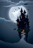 замок страшный Стоковая Фотография RF