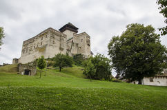 Замок Словакии, Trencin Стоковое фото RF