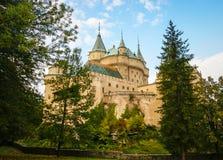замок Словакия bojnice Стоковое Фото
