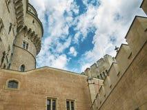 замок Словакия bojnice стоковое фото rf