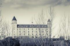 Замок Словакия SlovakiaBratislava замка Братиславы Стоковые Фото