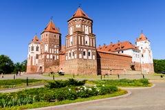 Замок сложный Mir Стоковое Изображение