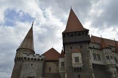 Замок Трансильвания Corvin, Румыния Стоковые Изображения RF