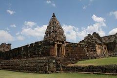 Замок утеса в Таиланде Стоковое Изображение