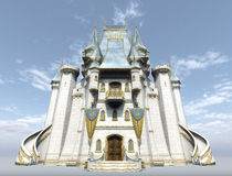 Замок фантазии Стоковое Изображение