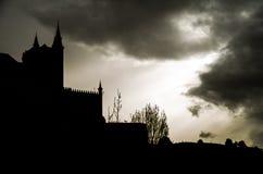 Замок фантазии Стоковая Фотография RF