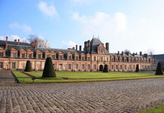 Замок Фонтенбло стоковая фотография