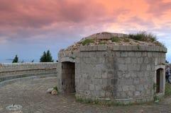 Замок форта королевский, Lokrum Хорватия Стоковые Изображения