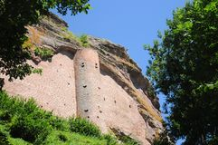 Замок Форт De Fleckenstein Стоковые Изображения