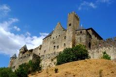 замок Франция carcassonne южная Стоковая Фотография
