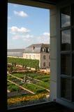 замок Франция villandry стоковое изображение