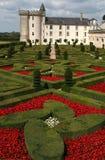 замок Франция villandry стоковые изображения rf