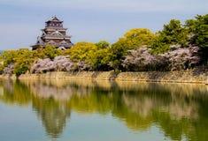 Замок Хиросимы в Хиросиме Стоковые Фотографии RF