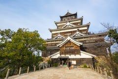 Замок Хиросимы в Horoshima, Японии стоковая фотография