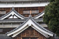 Замок Хиросимы стоковые фотографии rf