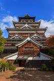 Замок Хиросимы Стоковое Изображение