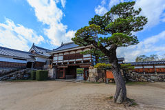 Замок Хиросимы Стоковая Фотография