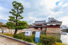 Замок Хиросимы Стоковое Изображение RF