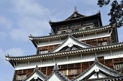 Замок Хиросимы Стоковая Фотография RF