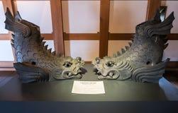 Замок Хиросимы Стоковые Изображения