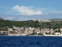 замок Хорватия Стоковые Фотографии RF