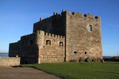 Замок черноты Стоковое Изображение