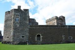 Замок черноты Стоковая Фотография