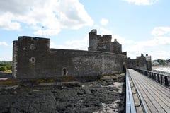 Замок черноты Стоковое Фото