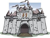 замок шаржа Стоковая Фотография RF