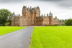Замок Шотландия Великобритания Glamis Стоковая Фотография