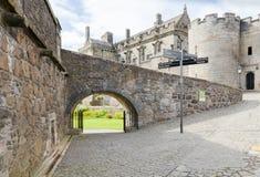 Замок Шотландия Стерлинга в лете Стоковые Изображения RF
