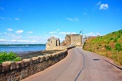 замок Шотландия черноты Стоковая Фотография RF