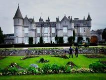 замок Шотландия balmoral Стоковые Фотографии RF