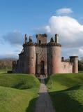 замок Шотландия caerlaverock Стоковое Фото