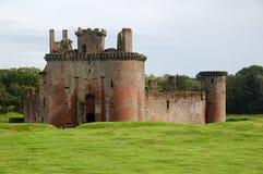 замок Шотландия caerlaverock Стоковые Фотографии RF