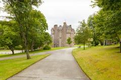 Замок Шотландия Crathes в лете Стоковые Изображения