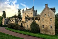 Замок Шотландия Drumh Стоковые Фото
