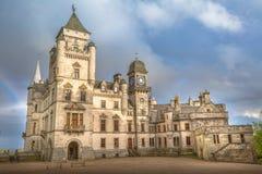 Замок Шотландия Dunrobin Стоковое фото RF