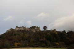 Замок Шотландия Стерлинга Стоковое фото RF