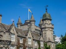 замок Шотландия balmoral Стоковая Фотография
