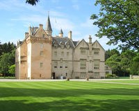 замок Шотландия brodie стоковая фотография