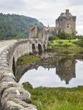 Замок Шотландия Eilean donan Стоковые Фото