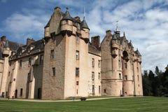 Замок Шотландия Fyvie Стоковые Фото