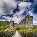 Замок Шотландия Kilchurn Стоковые Фото