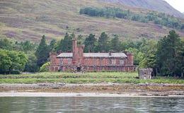 Замок Шотландия Kinloch стоковое изображение rf